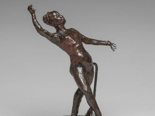 Dancer with a Tambourine, by Edgar Degas