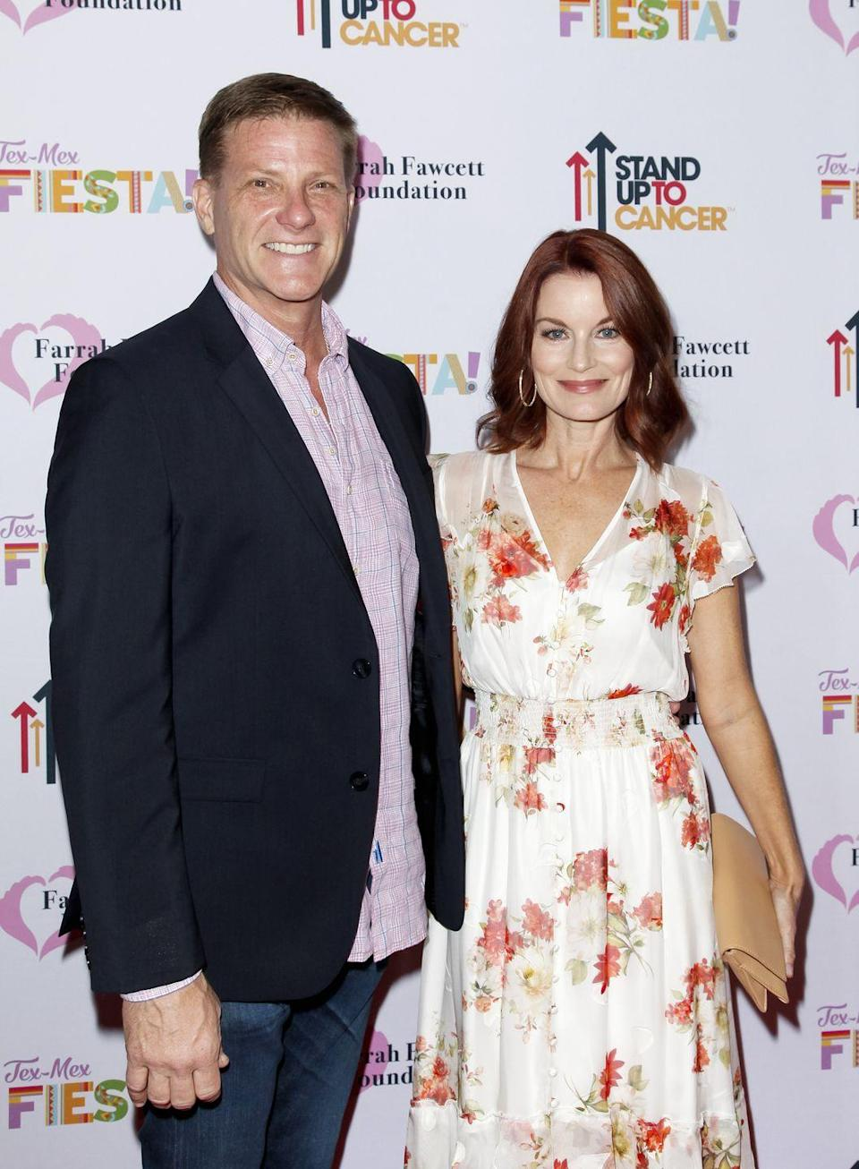 <p>Pictured here with his wife (and former <em>Melrose Place</em> co-star) Laura Leighton, Savant has been seen in guest appearances on <em>Criminal Minds, Lucifer,</em> and <em>NCIS</em>. </p>