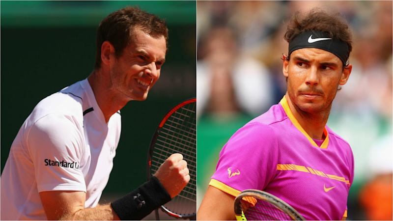 Murray, Nadal and Thiem through on day of shocks