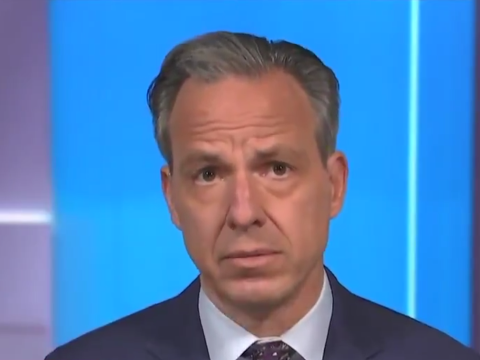 <p>State of the Union host Jake Tapper</p> (CNN)