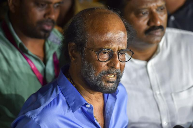 'Having Begun Life as Bus Conductor': AIADMK's Reminder for Rajinikanth After His Dig at CM