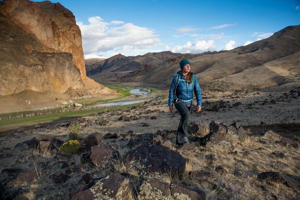 Corie Harlan is an environmental conservationist who has been trying to secure federal protection for the Owyhee.  (Photo: James Q Martin)