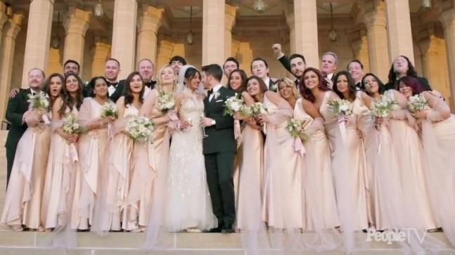 Isha Ambani was huge part of Priyanka Chopra's wedding journey, as she turned bridesmaid for her best friend. She wore a pink silk Ralph Lauren gown for the wedding.