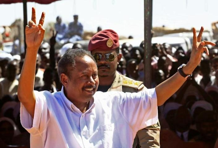 Sudan's new prime minister Abdalla Hamdok is a well-respected economist (AFP Photo/ASHRAF SHAZLY)