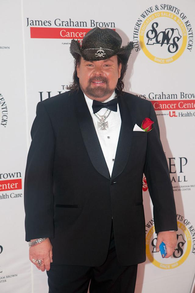 LOUISVILLE, KY - MAY 06:  Thomas Kinkade attends the 2011 Julep Ball during the 137th Kentucky Derby at the Galt House Hotel & Suites Grand Ballroom on May 6, 2011 in Louisville, Kentucky.