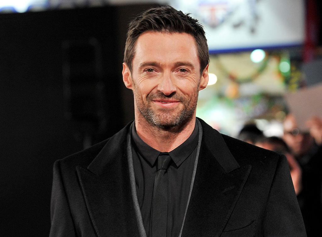 Actor Hugh Jackman attends the World Premiere of 'Les Miserables' at Odeon Leicester Square on December 5, 2012 in London, England.