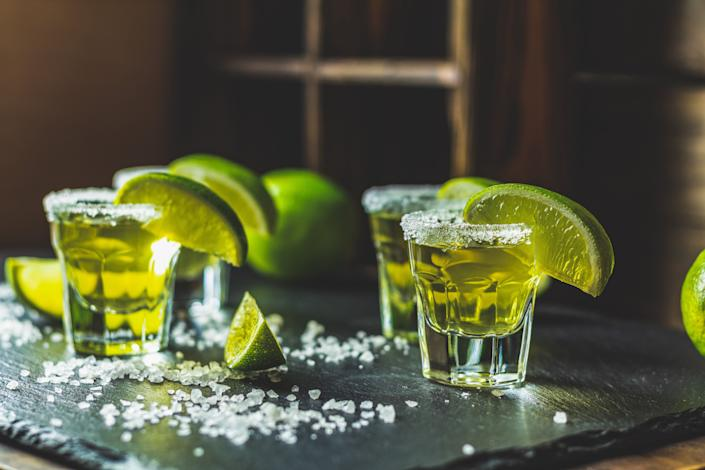 "Tequila was originally just ""mezcal de Tequila,"" the mezcal from the area around the city of Tequila, but over time, its name was shortened to just tequila. (Photo: ArtSvitlyna via Getty Images)"