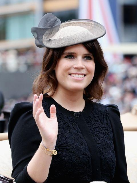 "<p><strong>Branch of the Family Tree: </strong>Younger daughter of Prince Andrew; granddaughter of Queen Elizabeth II</p><p><strong>More: </strong><a href=""https://www.townandcountrymag.com/society/tradition/a15841560/princess-eugenie-facts/"" rel=""nofollow noopener"" target=""_blank"" data-ylk=""slk:Who Is Princess Eugenie?"" class=""link rapid-noclick-resp"">Who Is Princess Eugenie? </a></p>"