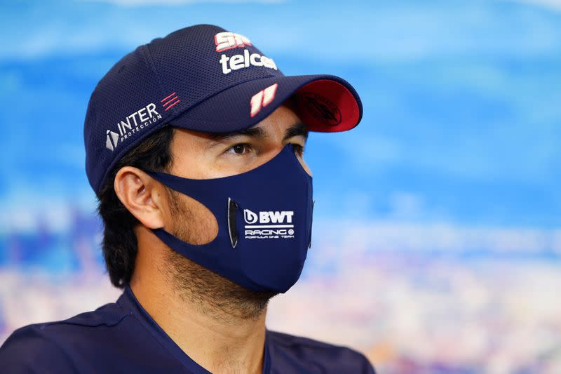 Motor racing: Dropped Perez wants to stay in F1 until at least 2022