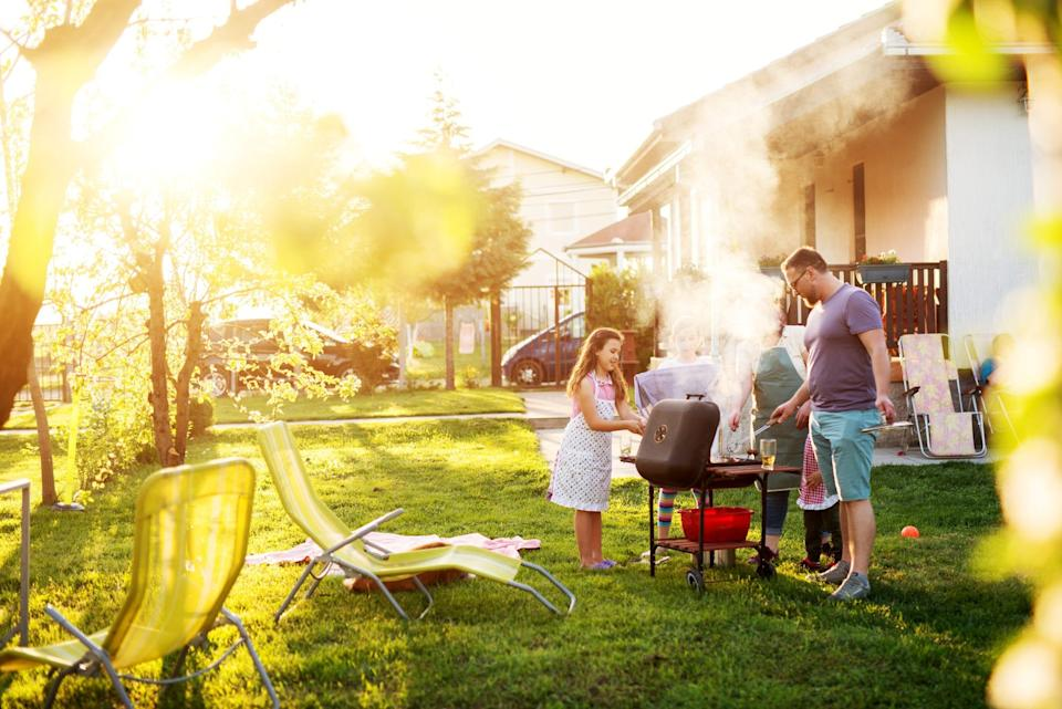 If you want to celebrate as safely as possible, an outdoor gathering is a great option.