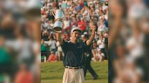 <p>One of Corey Pavin's 15 PGA Tour victories was a major win, which he earned when he won the U.S. Open in 1995. He turned pro in 1982, joined the PGA Tour in 1984 and moved on to the PGA Tour Champions in 2000, where he plays to this day. His career earnings total nearly $6.53 million.</p>