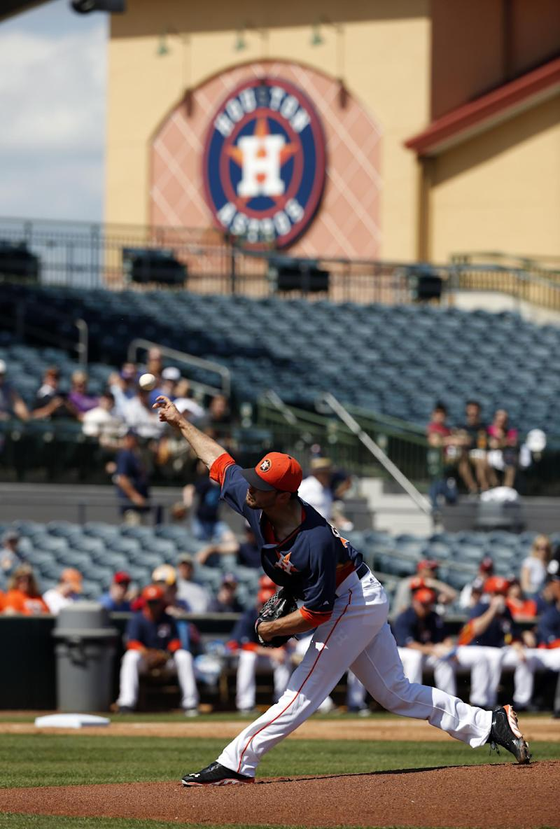 Astros hoping for new spring complex