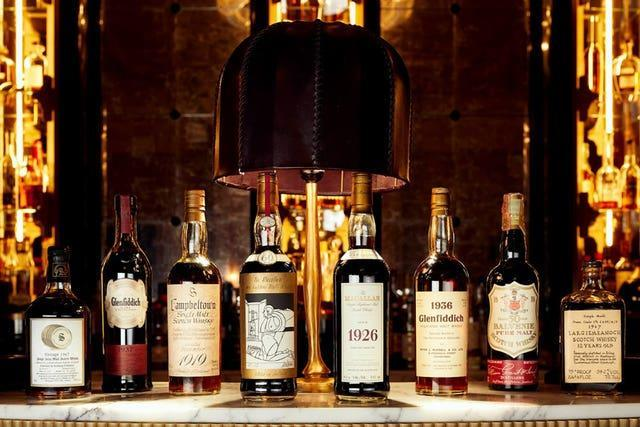 Richard Gooding whisky collection sale