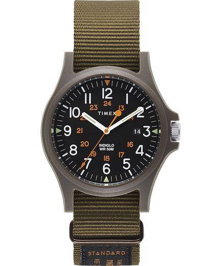 """<p><strong>Timex</strong></p><p>timex.com</p><p><strong>$85.00</strong></p><p><a href=""""https://go.redirectingat.com?id=74968X1596630&url=https%3A%2F%2Fwww.timex.com%2Facadia-40mm-military-grosgrain-strap-watch%2FTW2T14800LG.html%3Fgclid%3DCj0KCQjws5HlBRDIARIsAOomqA292fYj6lnNL_cmzhaOR5ec_ibSmwQ7_Zds2mbBi0UppxZ3XQYf_4gaAgJIEALw_wcB%26ranMID%3D39818%26ranEAID%3DTnL5HPStwNw%26ranSiteID%3DTnL5HPStwNw-252h1lbsFuesezs_9L1DZA&sref=https%3A%2F%2Fwww.cosmopolitan.com%2Fstyle-beauty%2Ffashion%2Fg27349308%2Fnew-dad-gift-ideas%2F"""" rel=""""nofollow noopener"""" target=""""_blank"""" data-ylk=""""slk:Shop Now"""" class=""""link rapid-noclick-resp"""">Shop Now</a></p><p>Make sure he's never late for any important baby appointments with this rugged yet classic watch. </p>"""