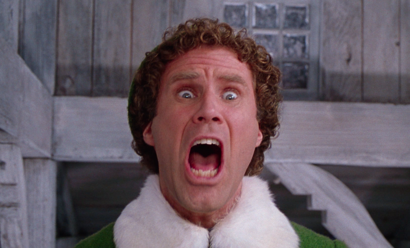 Elf is coming back to cinemas. (Park Circus/Warner Bros)