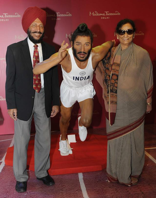 The 'Flying Sikh' met Nirmal, a former India volleyball captain, during a championship in Sri Lanka and they tied the knot in 1962.