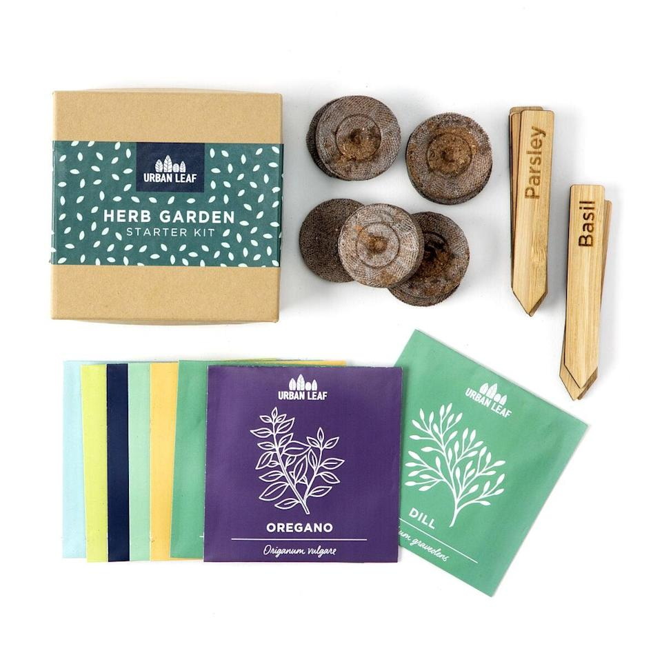 <p>The <span>Herb Garden Starter Kit</span> ($17) will not only keep you busy, but it will also give you some delicious herbs!</p>