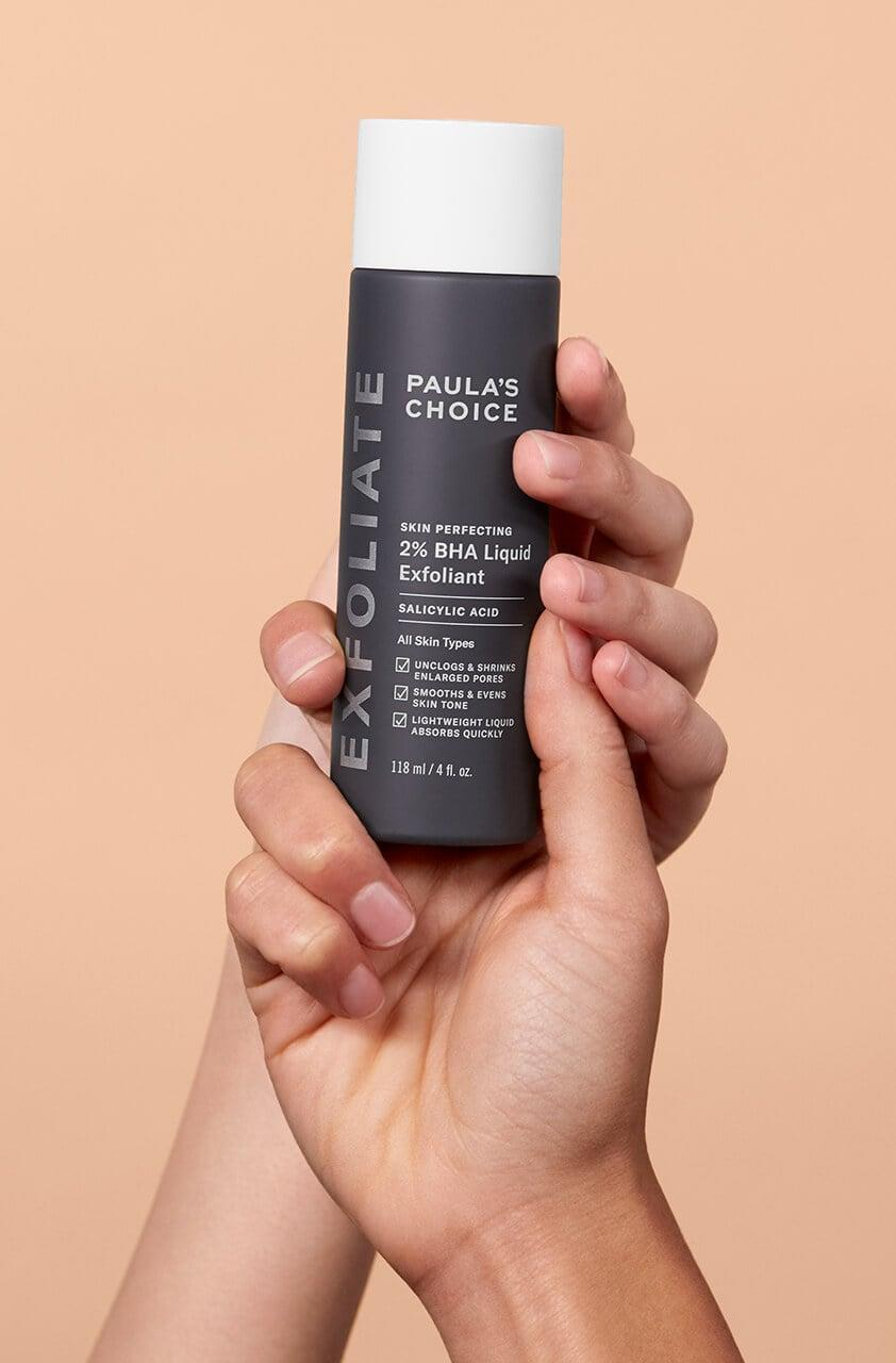 <p><span>Paula's Choice Skin Perfecting 2% BHA Liquid Exfoliant</span> ($30) is a go-to for acne and oil buildup. A little goes a long way and it's suitable for sensitive skin.</p>