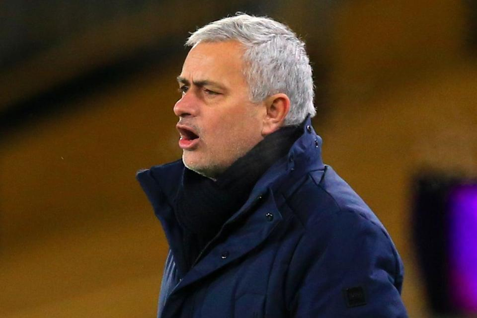 <p>Frustrated: Jose Mourinho</p> (Getty Images)