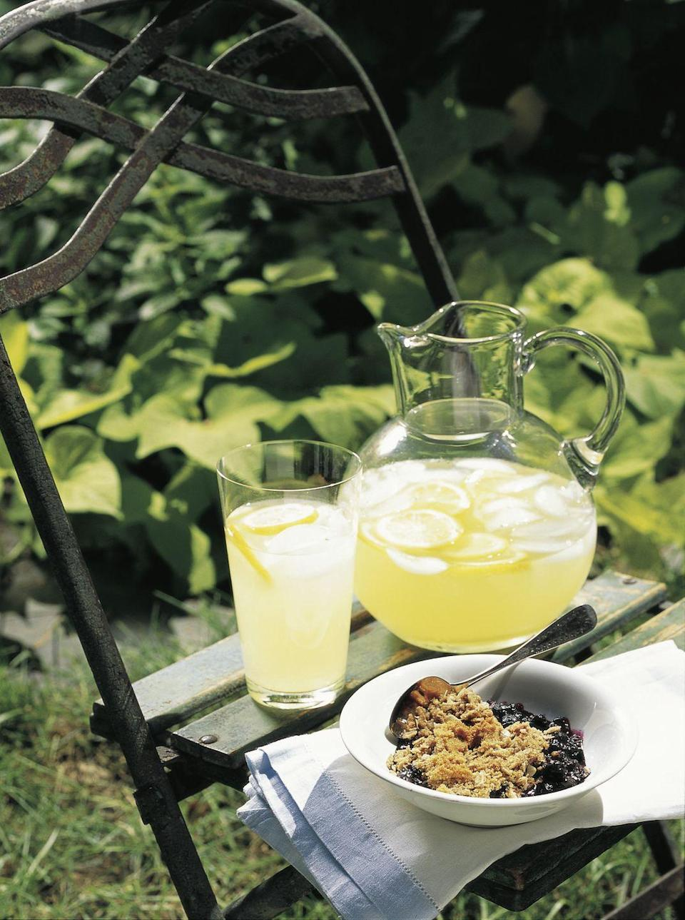"""<p>It's a fact of life: An ice-cold glass of tart lemonade will hit the spot <em>every single time</em>.</p><p><em><a href=""""https://www.goodhousekeeping.com/holidays/a16857/drink-fourth-0705/"""" rel=""""nofollow noopener"""" target=""""_blank"""" data-ylk=""""slk:Get the recipe for Homemade Lemonade »"""" class=""""link rapid-noclick-resp"""">Get the recipe for Homemade Lemonade »</a></em> </p>"""