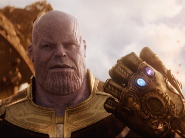 Thanos wields the Infinity Gauntlet in <em>Avengers: Infinity War.</em> (Photo: Marvel Studios)