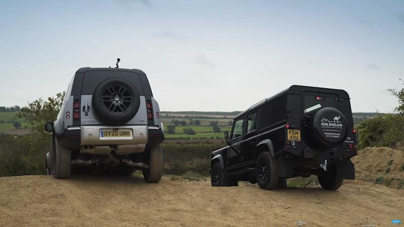 Land Rover Old Vs New