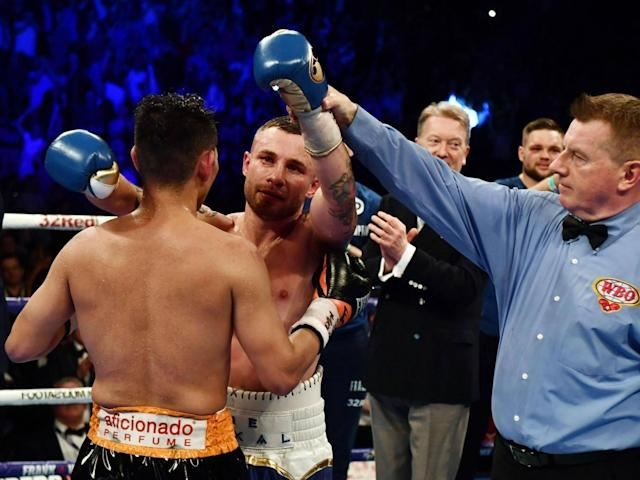 Flawless and full of his old magic, Carl Frampton put on that rarest of things - an actual boxing masterclass