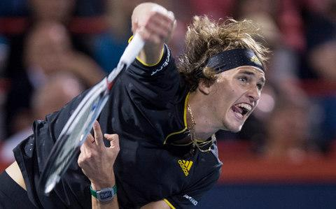"As Alexander Zverev shook his head after botching a volley when up match point against Rafael Nadal in Indian Wells last March, he looked as if he wanted to be anywhere but on a tennis court.  Still only 18 at the time, Zverev went on to lose the match and afterwards looked close to tears as he lamented: ""On match point I sucked, so that was it. I missed probably the easiest shot I had the whole match. That's what happened."" A year and a half on and Zverev has gone from lanky teenager to 20-year-old baseline behemoth with two Masters titles to his name and a career-high world ranking of No 6. He quickly recovered from the devastation of losing to Nadal and said phlegmatically this year that ""every good tennis player has to have a short memory"". Tennis experts are wary of forecasting who the 'next big thing' might be - they have been scarred by too many false dawns over the last decade - but Zverev has something a little extra special, so much so that Nadal and Roger Federer are among those who have already tipped the youngster for greatness.  Zverev's defeat of Federer in the Rogers Cup final earlier this month to win his second Masters title of the year suggested that he could be about to make a major breakthrough, and the bookies have installed him as the third favourite for the US Open, which begins on Monday, August 28. Before the tournament starts, Telegraph Sport takes a look at what makes Zverev so exciting and why he could be the long-term successor to the reign of the 'Big Four'.  Zverev and Federer pose with their trophies after the Rogers Cup final  Upbringing Zverev, a German national, was born in Hamburg and raised by his mother Irina Zvereva and father Alexander Zverev Sr, both of whom are former Russian tennis players.  Alexander Jr - or 'Sascha' as he is known - began playing tennis himself almost as soon as he could walk, and quickly followed in the footsteps of his older brother Mischa, who is nine years his senior and was already on the path towards joining the ATP Tour.  The brothers were coached by mama and papa Zverev, and Irina told Telegraph Sport earlier this year that Sascha and Mischa had an insatiable appetite for playing tennis growing up. ""Both kids sometimes used to say, 'Last ball', and I would have to play one hour more,"" she said. ""With Sascha, especially, we know when we want something to stop, one of us must lose to him at something – tennis, cards, backgammon. There's no other way. And then after he's happy, we can go to dinner or go to sleep."" Zverev says of Irina and Alexander Sr: ""My parents are very calm. They understand what I am doing, and they have both been playing pro tennis so they know how to behave."" A young Zverev with his brother Mischa (also a professional tennis player) and parents Alexander Sr and Irina, both former players themselves  Alexander Sr is still Zverev's coach now, and he is helped by former French Open winner and world No 1 Juan Carlos Ferrero.  Mischa was talented and has enjoyed a successful career - he beat Andy Murray at the Australian Open in January and has been ranked as high as 25 in the world - but Sascha was clearly extraordinarily gifted. As Mischa entered junior tournaments, Sascha would watch from the sidelines and then knock up with players a decade older like Novak Djokovic and Gilles Simon without any hint of being overawed.  It wasn't long before Sascha began to make a name for himself on the junior circuit, and as a precocious 15-year-old he won the prestigious Trofeo Bonfiglio in Milan four years ago. Previous winners of the event include Bjorn Borg, Ivan Lendl and Stefan Edberg, and the buzz of excitement around Zverev intensified, with the question becoming when not if he would become the world No 1.  Breakthrough Zverev became the No 1 ranked junior in October 2013, and he backed that up by winning the Australian Open junior title at the start of 2014.  Following the victory in Melbourne he started playing on the main tour, and cracked the top 100 for the first time in June 2015 after winning the Heilbronn Challenger in his native Germany in May 2015.  The agonising defeat to Nadal at Indian Wells then served notice of his rapid improvement, and it wasn't long before he won his first ATP title as he claimed the St. Petersburg Open last September.  Zverev has continued to get better and better, winning five titles this year - including two Masters events in Rome, where he crushed Novak Djokovic in the final, and Montreal - on his way to breaking into the world's top 10.  The 20 greatest tennis players of Open era What makes him so good? Imagine a 6ft 6in version of Novak Djokovic who can bang down aces with the seemingly effortless ease of a mid-1990s Pete Sampras.  Pretty scary right? Zverev of course is not yet at the level of either of those two legends of the sport, but when he's on song he's not far off. His movement and athleticism is Djokovic-esque and his backhand is reminiscent of the Serb's, but with extra pop. Zverev was ambidextrous growing up, which partly explains how he is able to get so much power with the double-hander.  Zverev himself puts his excellent backhand down to the stellar guidance of his mum: ""My father is my coach,"" he says. ""But when I was younger my mother was guiding me more. I think I have pretty good technique, which my mum did at a young age, so credit to her for that. My backhand, in particular, is 100 per cent down to my mum."" When serving, Zverev has become increasingly adept at utilising his 6ft 6in frame to bang down aces and produce more variety with spins and kick to keep his opponents guessing.  Zverev powers down a serve against Denis Shapovalov earlier this month In the Rome final against Djokovic, Zverev demolished the best returner in the history of the game with the accuracy and power of his serving, and did not face a break point all match. Even if his opponent is able to get the Zverev return back in play, the German is so adept at quickly getting on the front foot in the point with the power and depth of his forehand. He is also an exquisite shot maker, and as his brother Mischa says: ""I think the last generation, especially Andy and Novak, was so professional. The focus was on perfection. I think Sascha and Dominic [Thiem], and this whole generation, are going to be a little more creative."" The only real weakness in Zverev's game is his volleying - as demonstrated against Nadal in Indian Wells - which is a source of amusement and frustration to his family given that older brother Mischa is one of the best volleyers in the game.  Physical specimen When Zverev was climbing up the junior ladder, he was very slender and lanky in build, but still able to generate phenomenal power.  The worry for the Tour was that once he filled out, he was going to be a formidable physical specimen. The job of turning him from gangly teenager to full-formed tennis superman fell to fitness trainer Jez Green, who left Andy Murray's camp to join team Zverev in 2013.  At a glance 