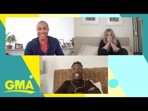 """<p>A nurse treating patients on the front line of the pandemic got a much-needed pick-me-up when <em>Good Morning America </em>surprised her with an on-air call with Billy Porter. The <em>Pose </em>star choked up thanking her, saying her work with patients is""""beyond special, it's beyond a gift.""""<br></p><p><a href=""""https://youtu.be/cmhVGLOZGzE"""" rel=""""nofollow noopener"""" target=""""_blank"""" data-ylk=""""slk:See the original post on Youtube"""" class=""""link rapid-noclick-resp"""">See the original post on Youtube</a></p>"""
