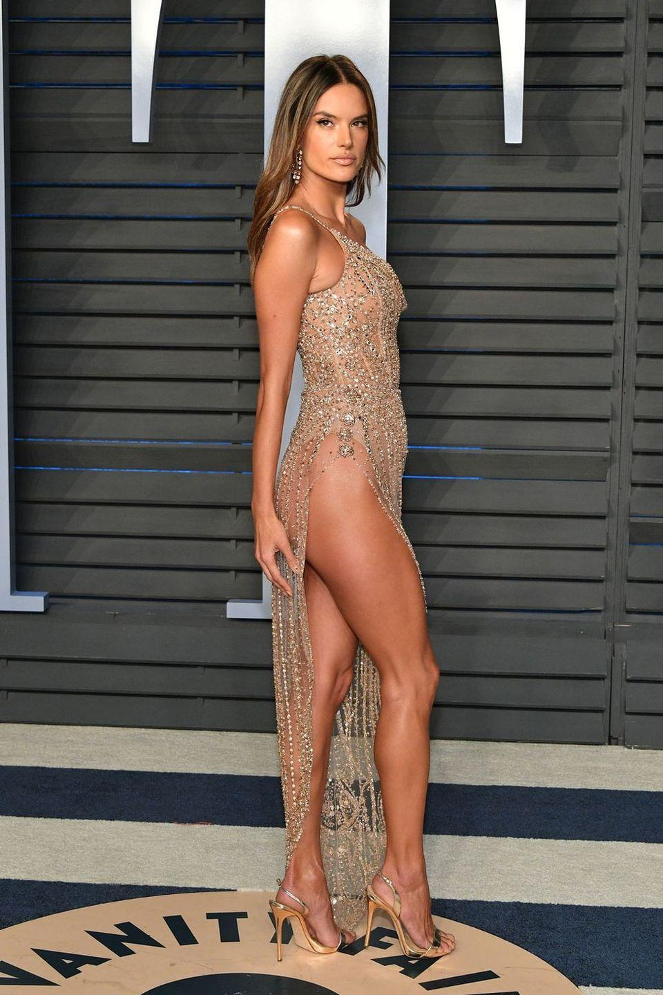 <p>At the Vanity Fair Oscars After-Party, 2018</p>