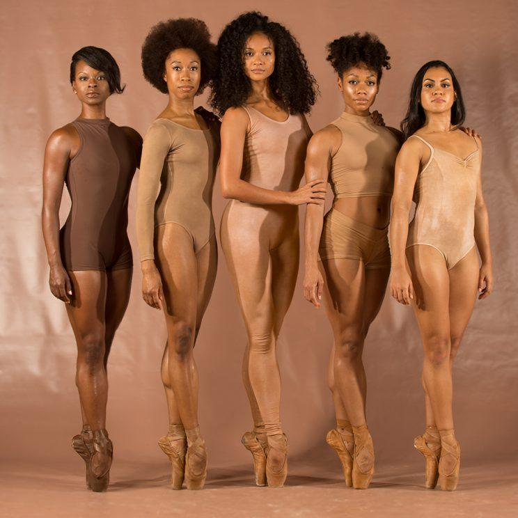 These five beautiful black ballerinas are taking the ballet world by storm. (Photo: Andrew J. Breig)