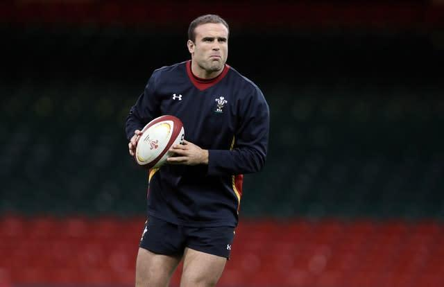Jamie Roberts is also a qualified doctor (David Davies/PA)