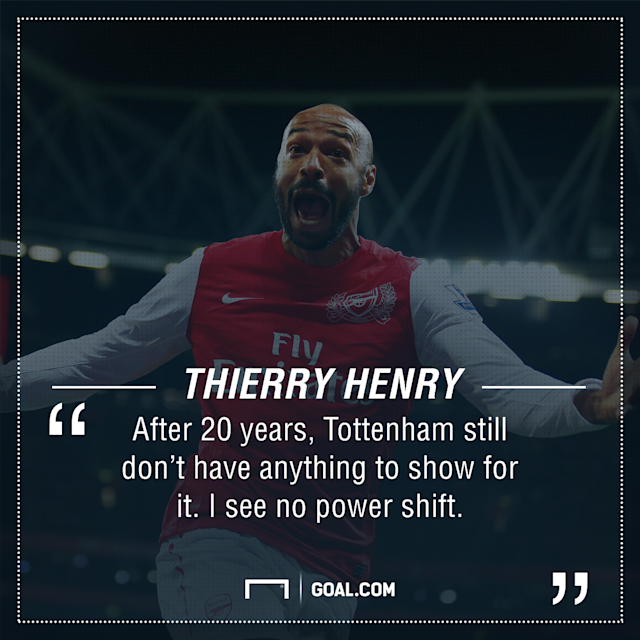 Thierry Henry Arsenal Spurs