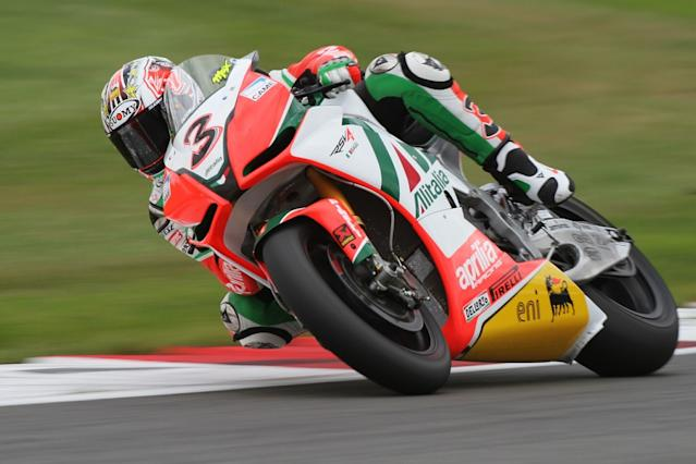 Biaggi in surprise link to Sepang Aprilia test role