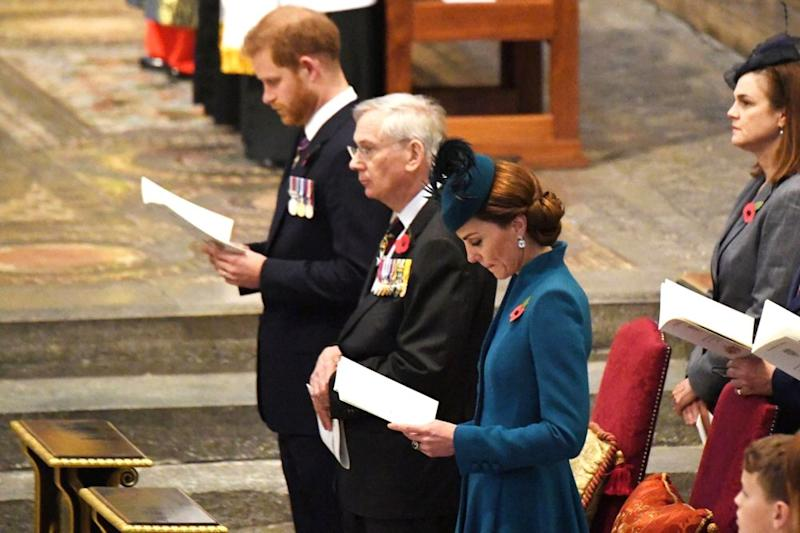 Prince Harry, the Duke of Gloucester and Kate Middleton | REX/Shutterstock