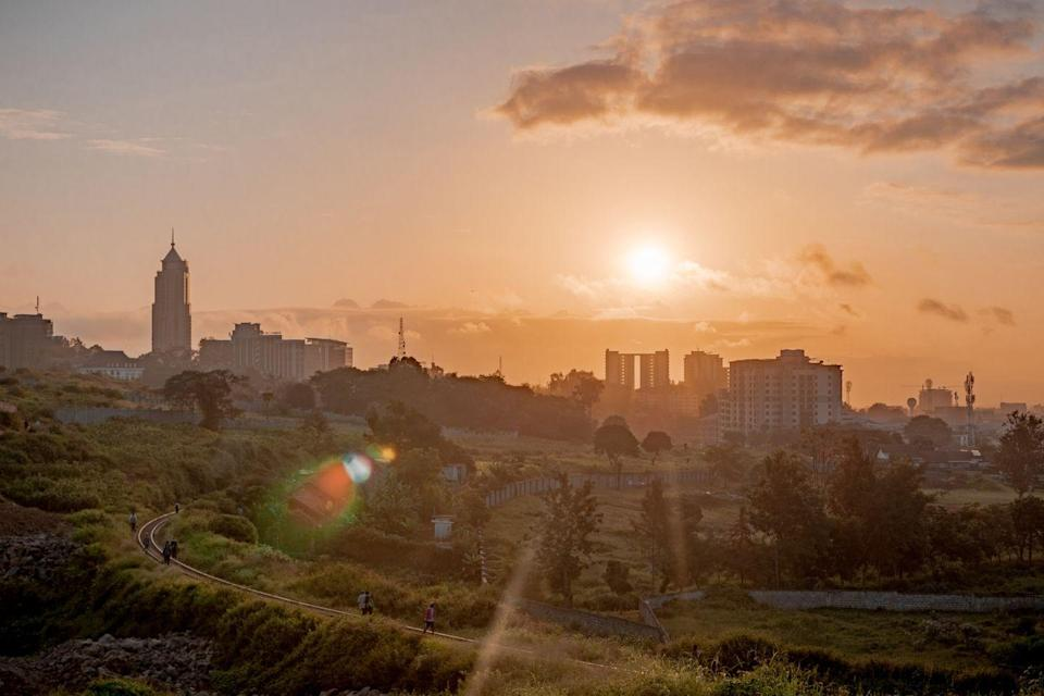<p>While the city of Nairobi may not be the first place you want to go when you think of running, the metropolitan area is well situated between Lake Victoria, the Serengeti and Mt. Kilimanjaro. Take day trips to all three for some beautiful African running excursions.</p>