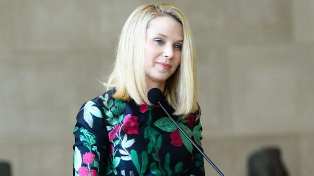 Yahoo chief Marissa Mayer has a golden parachute worth $55 million that  kicks in the event she is terminated within a year of the company being  sold.