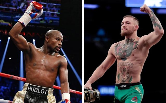 Floyd Mayweather will return to the ring for the first time since 2015 to fight UFC's Conor McGregor - Getty Images