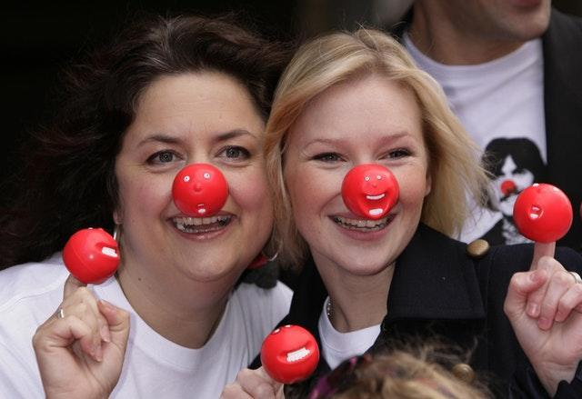 Stars of Gavin and Stacey (L-R) Ruth Jones and Joanna Page