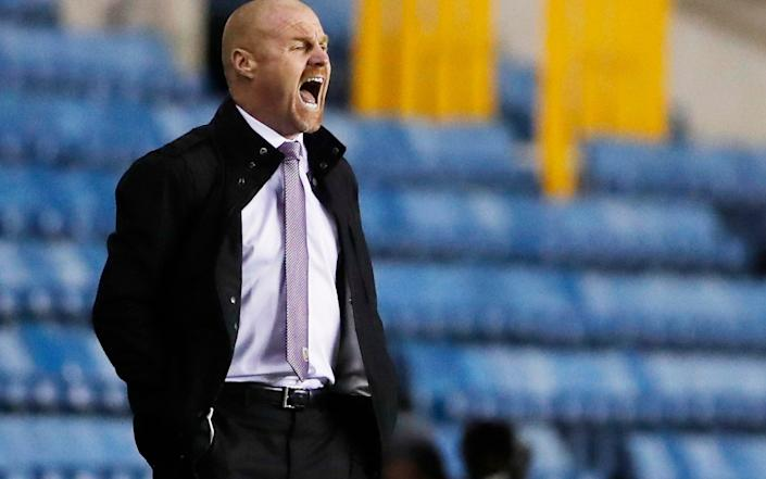 Sean Dyche's Burnley are the latest club to attract interest from American buyers - Andrew Couldridge /Pool via Reuters