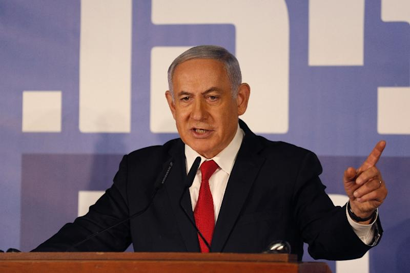 Israeli Prime Minister Benjamin Netanyahu faces a strong challenge by a centrist alliance at elections on April 9