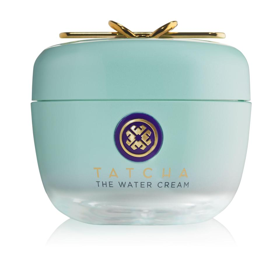 """<p><strong>Tatcha</strong></p><p>tatcha.com</p><p><strong>$54.40</strong></p><p><a href=""""https://go.redirectingat.com?id=74968X1596630&url=https%3A%2F%2Fwww.tatcha.com%2Fproduct%2Fwater-cream%2FWATER-CREAM.html&sref=https%3A%2F%2Fwww.harpersbazaar.com%2Fbeauty%2Fskin-care%2Fg37611110%2Ftatcha-friends-family-sale%2F"""" rel=""""nofollow noopener"""" target=""""_blank"""" data-ylk=""""slk:Shop Now"""" class=""""link rapid-noclick-resp"""">Shop Now</a></p><p>This lightweight moisturizer is a cult favorite for good reason. Not only is it <a href=""""https://www.harpersbazaar.com/beauty/skin-care/g5774/best-oil-free-moisturizers/"""" rel=""""nofollow noopener"""" target=""""_blank"""" data-ylk=""""slk:oil free"""" class=""""link rapid-noclick-resp"""">oil free</a> (which is ideal for oily and combination skin types), but customers also love how it leaves their skin feeling """"smooth and soft.""""</p>"""