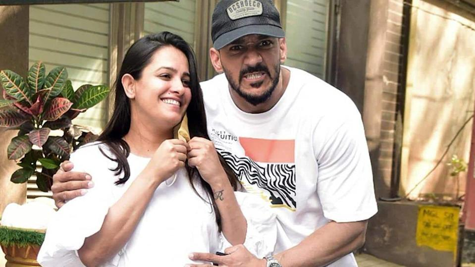 Anita Hassanandani and Rohit Reddy blessed with a baby boy