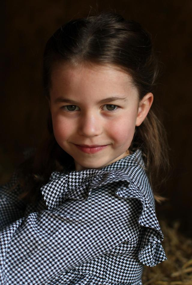 Charlotte, who turns five on Saturday, will spend her birthday in Norfolk. (Duchess of Cambridge)