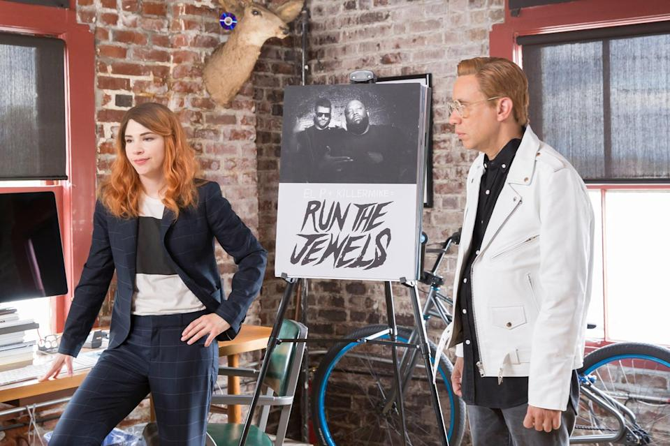 """<p>Stoners will get a kick out of Fred Armisen and Carrie Brownstein's absurdist hipster comedy <strong>Portlandia</strong>, a quirky, witty show about all things Portland.</p> <p><a href=""""http://www.netflix.com/title/70185015"""" class=""""link rapid-noclick-resp"""" rel=""""nofollow noopener"""" target=""""_blank"""" data-ylk=""""slk:Watch Portlandia on Netflix now."""">Watch <strong>Portlandia</strong> on Netflix now.</a></p>"""