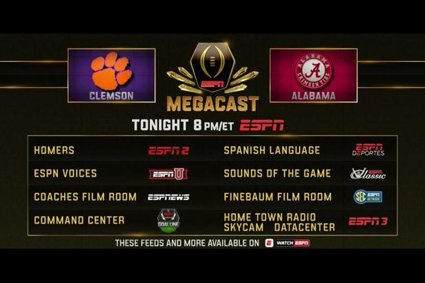 college football playoff schedule football tonight on tv