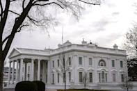 <p>If you set out to paint the outside surface of the White House, you'd need at least 570 gallons of paint, according to the White House Historical Association.</p>