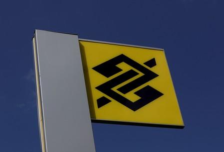 FILE PHOTO: The Banco do Brasil logo is seen outside a bank office in Sao Paulo