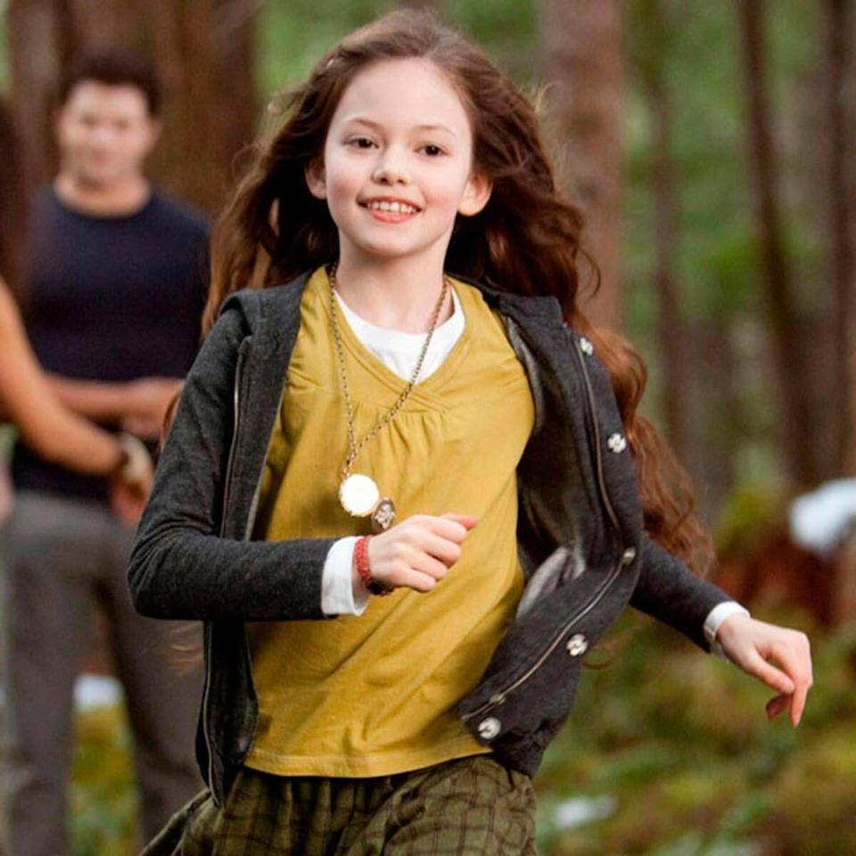 <p>Apart from a couple of one-off TV appearances, Mackenzie Foy didn't have much experience before being cast as Bella and Edward's daughter at just 10 years old.</p>