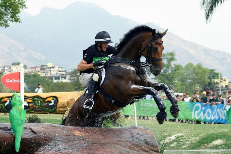 New Zealand's Mark Todd (shown riding Leonidas II at the 2016 Rio Games) won back-to-back golds at the 1984 and 1988 Olympics and competed in seven Games